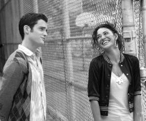 gossip girl, jessica szohr, and Penn Badgley image