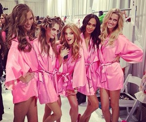 model, pink, and Victoria's Secret image