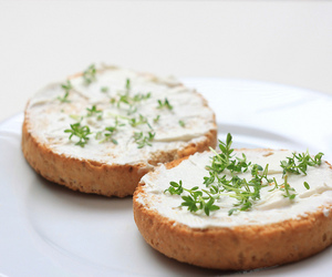 cheese, cress, and fitness image