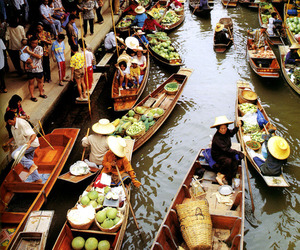 thailand, asia, and market image