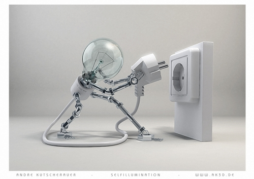 character, light bulb, and object image