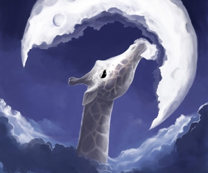 La fable de la girafe by *AquaSixio on deviantART