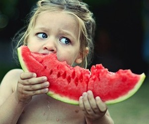 watermelon, baby, and child image