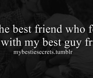 best friend, fell, and in love image