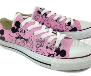 fashion shoes, mickey mouse, and new shoes image