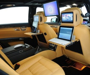 car, luxury, and ipad image
