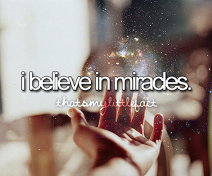 miracle, believe, and quote image
