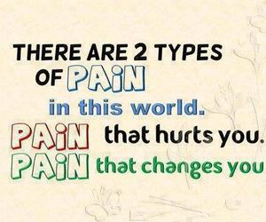 pain, quotes, and hurt image