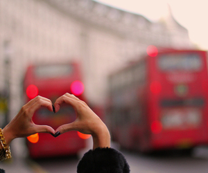 heart, london, and love image