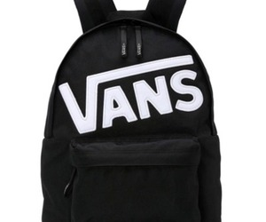 backpack and vans image
