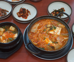 korean food image