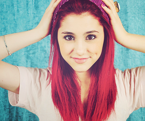 ariana grande, ariana, and red image