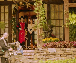 beautiful, garden, and michael jackson image
