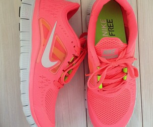 beautiful, nike free run, and love image