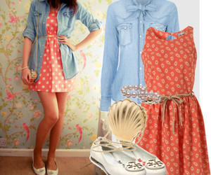 dress, outfit, and style image