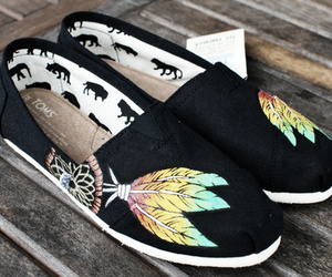 toms, shoes, and dreamcatcher image