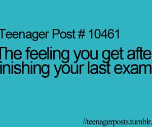 teenager post and exam image