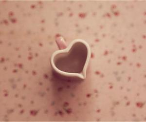 heart, cup, and pastel image