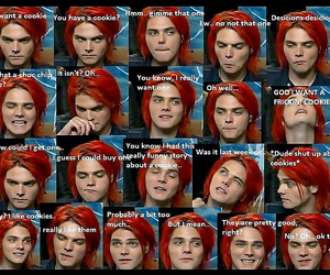 funny, mcr, and cute image