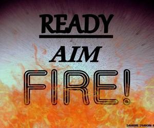fire, ready, and imagine dragons image