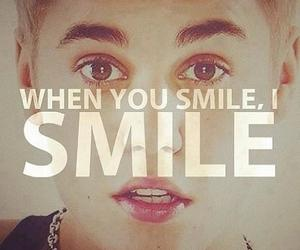 smile, justin bieber, and love image