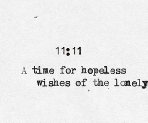wish, quote, and 11:11 image