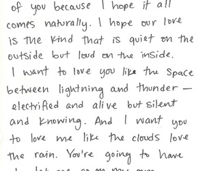 love, quote, and Letter image