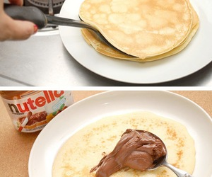 nutella, recipes in pictures, and recipes with pictures image