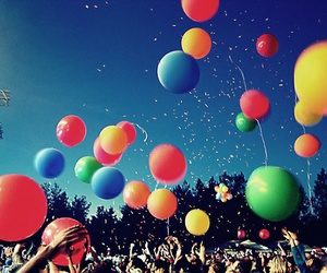 balloons and concert image