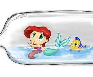 the little mermaid and la sirenita image