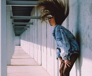 girl, heels, and hair image