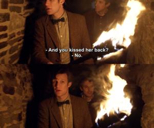 doctor who, kiss, and matt smith image