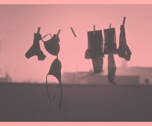 laundry, pink, and pants image