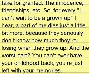 childhood, growing up, and innocence image