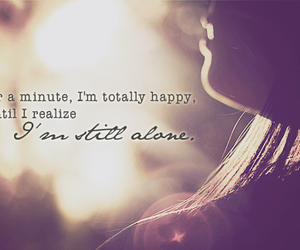 minute, alone, and happy image