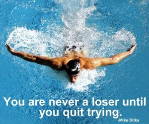 quote and sport image