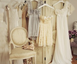 closet, old, and dress image