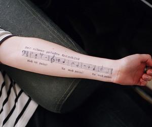 tattoo, music, and vintage image