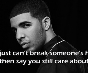 Drake, quote, and heart image