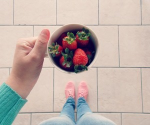 oxford and strawberries image