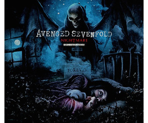 avenged sevenfold, nightmare, and a7x image