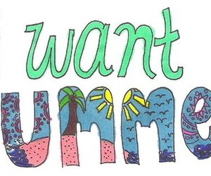 summer, quote, and text image