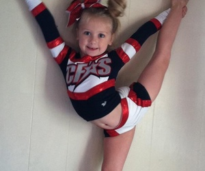 blond, cheer, and lovely image