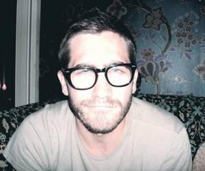 jake gyllenhaal, glasses, and boy image