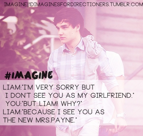 One Direction Imagine / #imagine liam  on We Heart It
