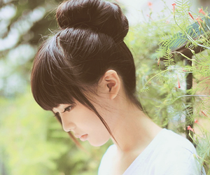 ulzzang, hair, and korean image