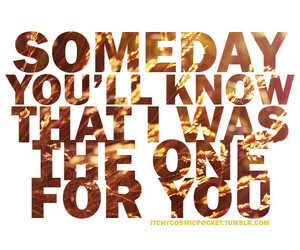 quote, love, and someday image
