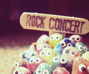 rock, concert, and funny image