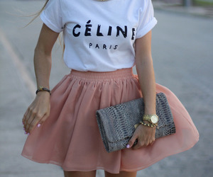 fashion, celine, and skirt image
