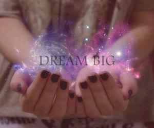 Dream, galaxy, and photography image